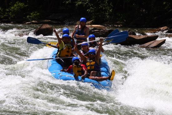 "Ducktown, TN: ""Ride the Bull"" Black Folks Adventures taking on Lake Ocoee"
