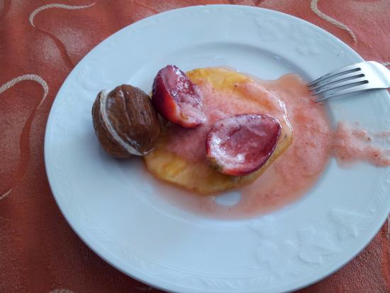 Arrone, Włochy: altro gelato/frutta di un amico