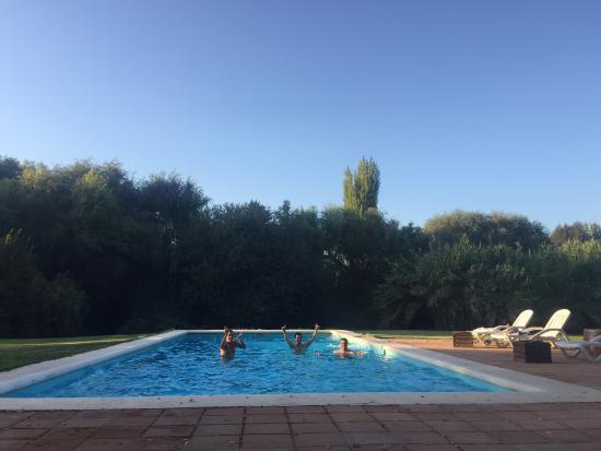 Hotel Vina la Playa : Cena y piscina