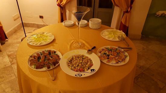 Logge Del Perugino W&B Resort : Buffet