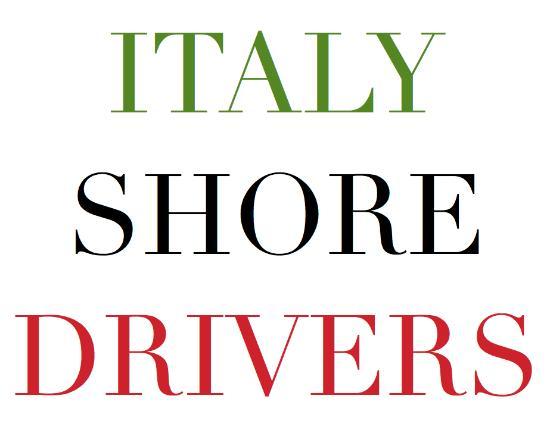Italy Shore Drivers