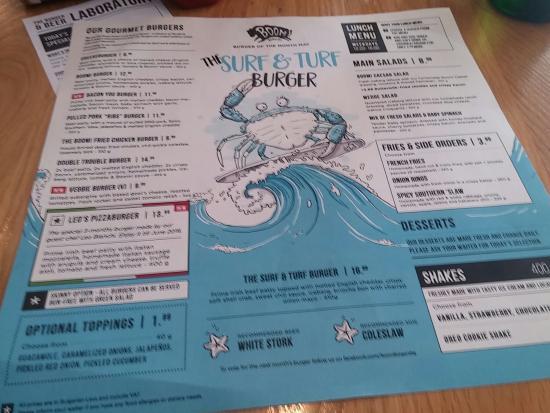 Great burger bar - Изображение Boom! Burgers, София - Tripadvisor