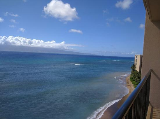 Kahana Beach Resort: View from the room