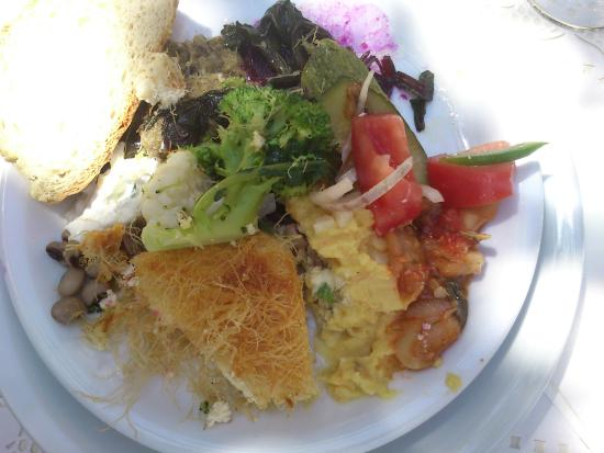 Anezina Village: Food from the buffet