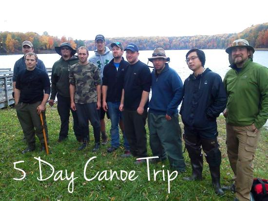 Mio, มิชิแกน: 5 Day Canoe Trip!
