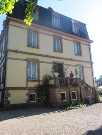 Hotel Restaurant Le Chateau D Andlau Barr