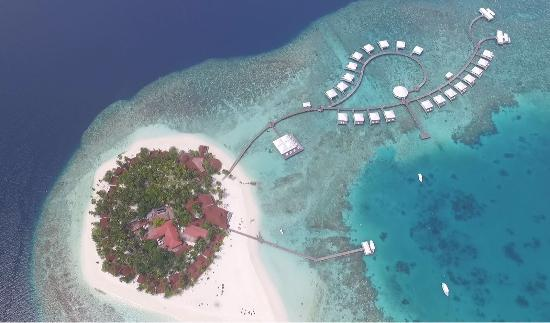 Water Villas - Picture of Diamonds Thudufushi, Thudufushi ...