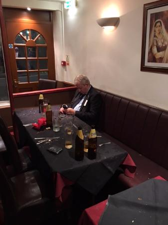 Late night curry after Chester races at the Spice Balti in Chester