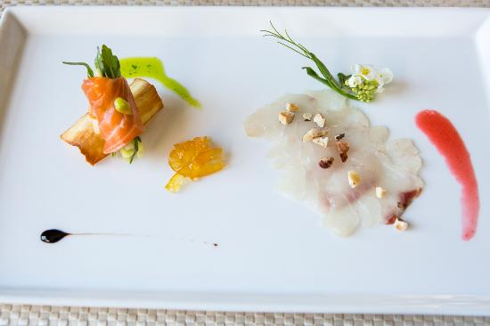 Huntly, VA: Salmon and Rockfish Crudo