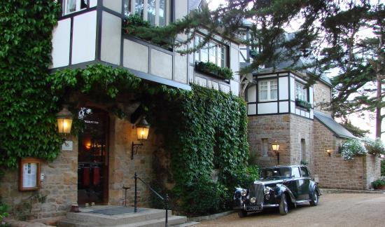 Ti al Lannec Hotel Restaurant & Spa: côté jardin
