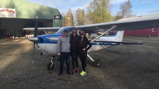 Willow, AK: before take off