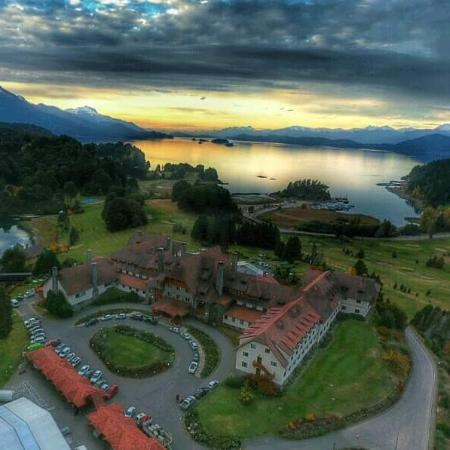 Llao Llao Hotel and Resort, Golf-Spa: Desde el aire