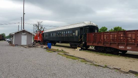 Belton Grandview and Kansas City Railroad: enclosed car