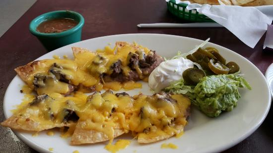 Emory, TX: This is fajita nachos