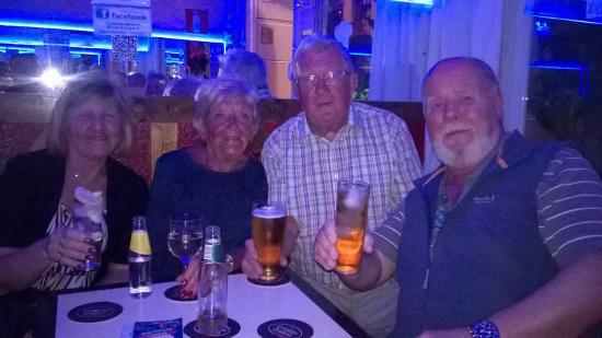 Meliden, UK: Taken in Benidorm when they were on holiday ,met at olivers for a drink and had a good time