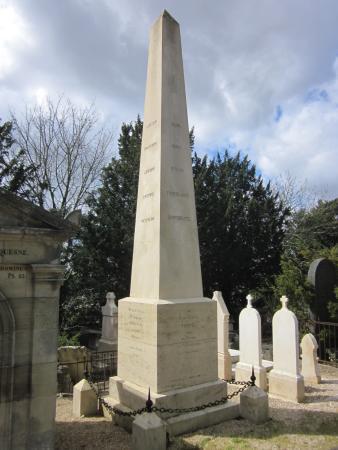 Cimetiere Monumental: monumentaler Grabstein