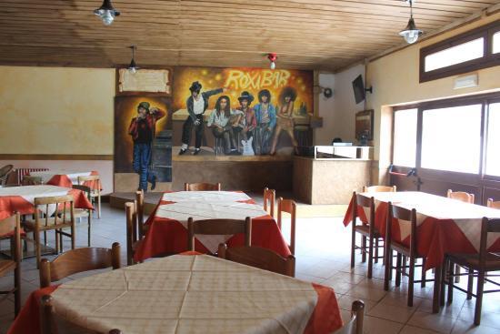 Olivetta San Michele, Italy: Sala palchetto per il karaoke
