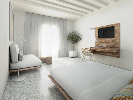 Mykonos Palace Beach Hotel : GREEK LUXURY JR SUITE