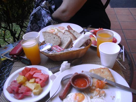 Hotel Casa Antigua: desayuno
