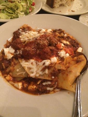 Sicilian Lasagna Picture Of Saint Rocco S New York Italian