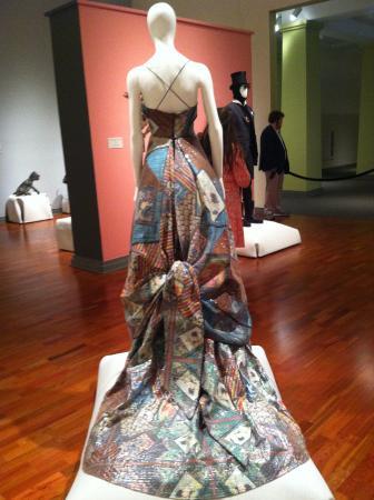 Huntsville Museum of Art: part of the fashion exhibit