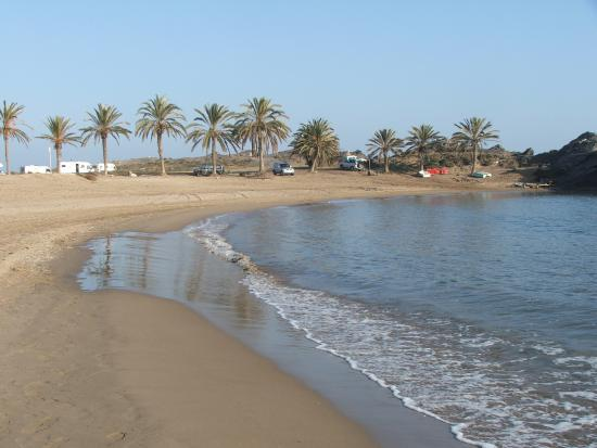 Mazarron, Spanyol: Playa de Percheles