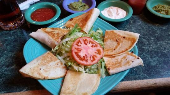 Quesadilla Platter San Jose Mexican Restaurant Irmo Sc May 2016