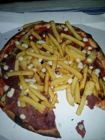 Moto Pizza a Domicilio