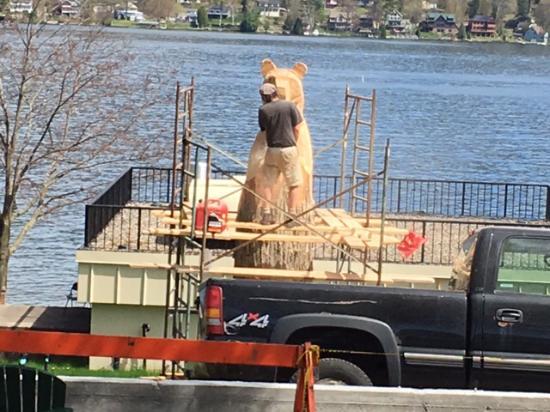 Lake George: Preparation for Summer.