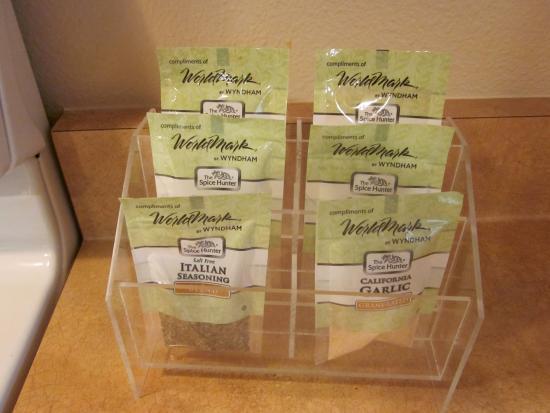 Worldmark St. George: Spices!