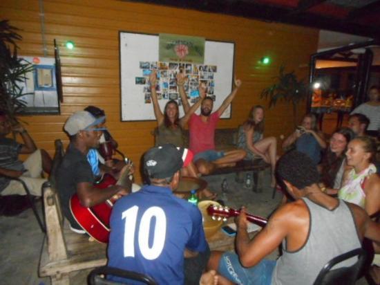 Beach Escape Villas: Kava ceremony