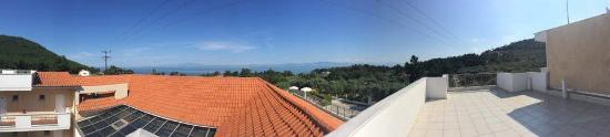 Pachis, Hellas: the roof terrace