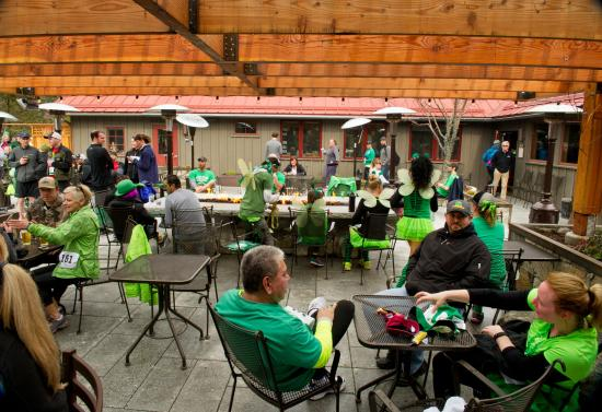 O'Grady's Pantry & Mercantile: Post race party for our inaugural O'Grady's St. Paddy's 5k