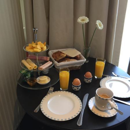 The Posthoorn: Breakfast