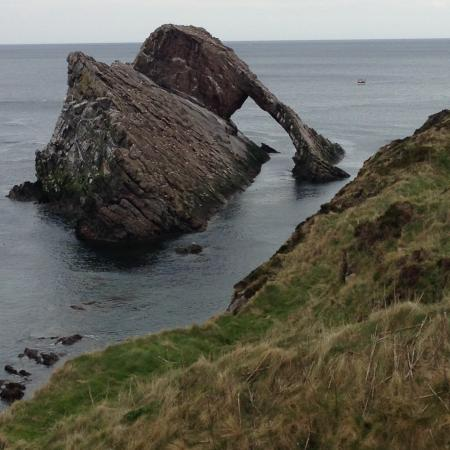 Portsoy, UK: Bow Fiddle Rock