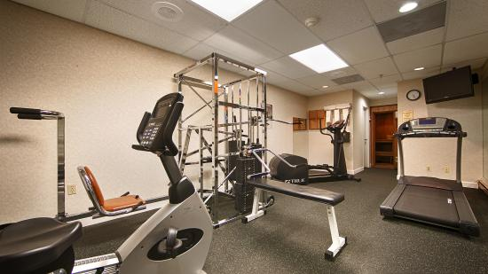 BEST WESTERN PLUS Murray Hill Hotel & Suites: Fitness Center