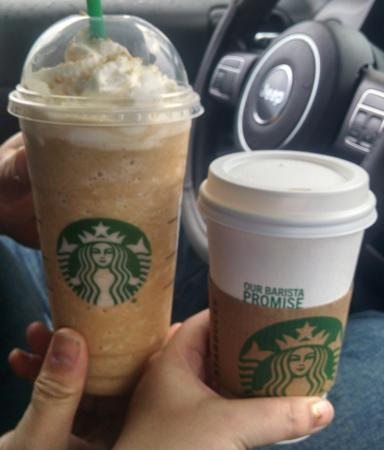 """Starbucks: Our """"45 minute wait"""" beverages"""