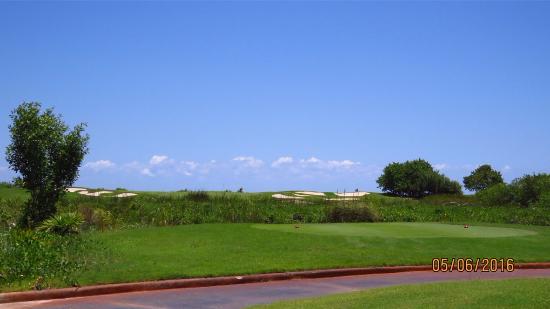 Puerto Cancun Golf Course: Fairway view