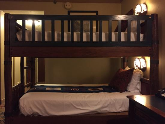 Bunk Beds In Our Room Picture Of Disney S Wilderness Lodge