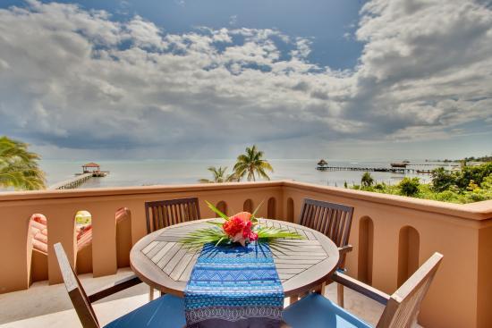 Belizean Cove Estates: Patio