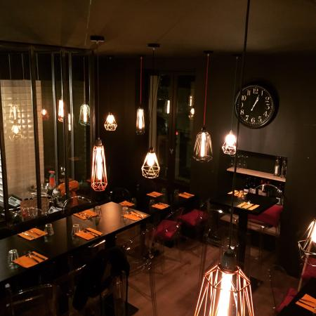 la boite noire restaurant italien photo de la boite. Black Bedroom Furniture Sets. Home Design Ideas