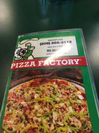 pizza factory menu picture of mariposa pizza factory mariposa rh tripadvisor co nz