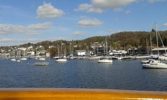 Bowness-on-Windermere, UK: view from the boat ride
