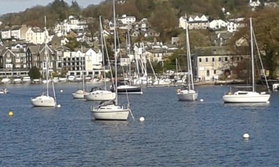 Bowness-on-Windermere, UK: on the ride