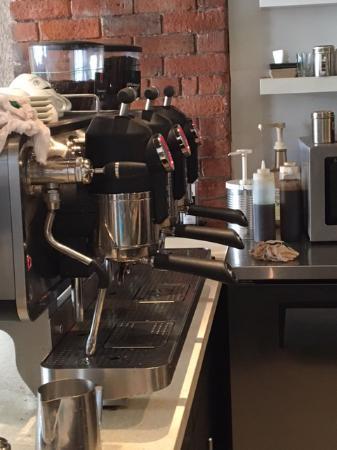 le used la san marco espresso machine