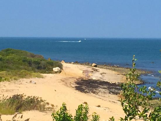 Montauk Point Lighthouse Beach At