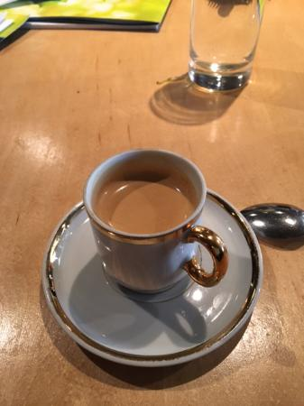 Earl & Angelo's: My espresso after dinner