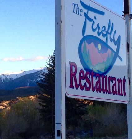 The Firefly Restaurant LLC: Street sign