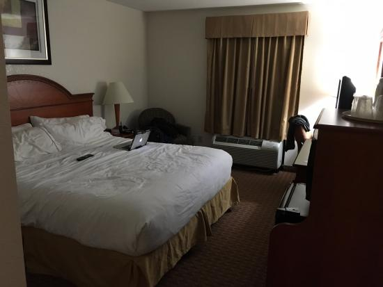 Holiday Inn Express Hotel & Suites Allentown - Dorney Park Area: great bed