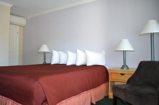 The Palo Alto Inn: Comfortable Queen/King Bed
